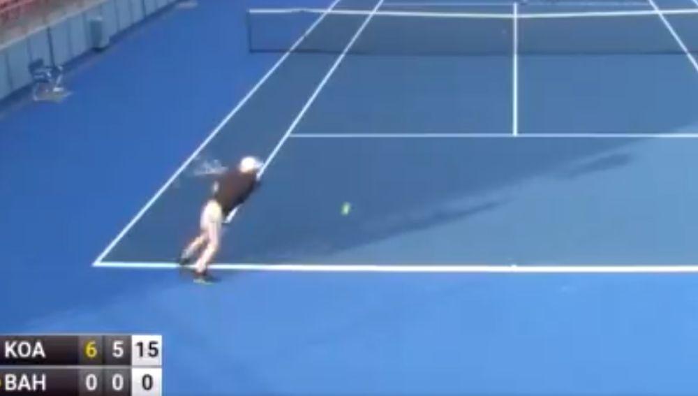 El peor tenista: perdió 6-0 y no ganó un solo punto