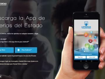 Aplicaciones móviles para seguir la Lotería de Navidad
