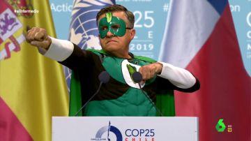 El discurso de El Green Wyoming en la Cumbre del Clima