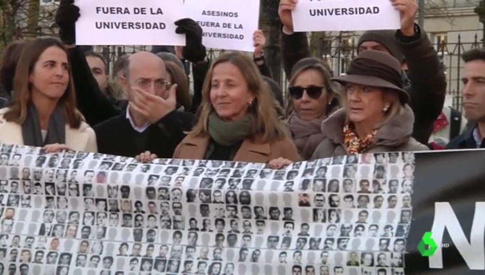 Protestas por la charla de un expreso etarra condenado por asesinato en la Universidad de País Vasco