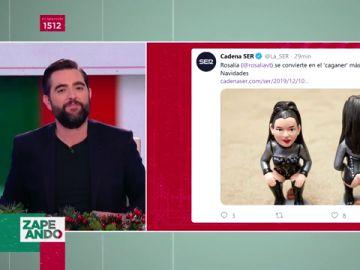 El 'caganer' de Rosalía ya es el más vendido de estas Navidades