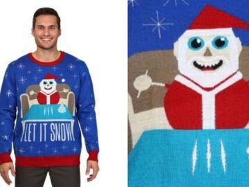 Jersey navideño de Walmart