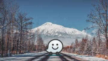 Carretera helada