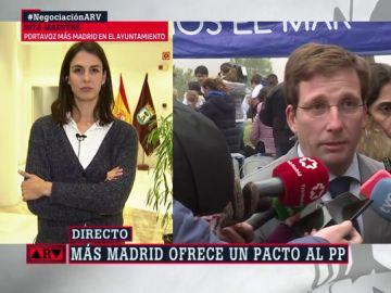 """Más Madrid ofrece un pacto presupuestario al PP: """"Damos un paso adelante para que la ciudad no dependa de la extrema derecha"""""""