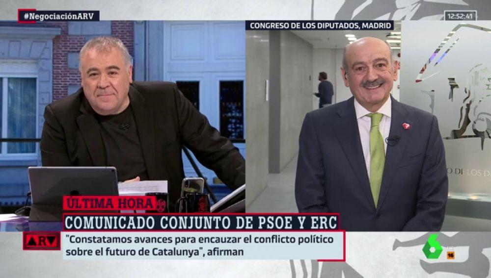 """José María Mazón (PRC) condiciona su apoyo a Sánchez: """"No admitiríamos cesiones (al independentismo) más allá de la ley"""""""
