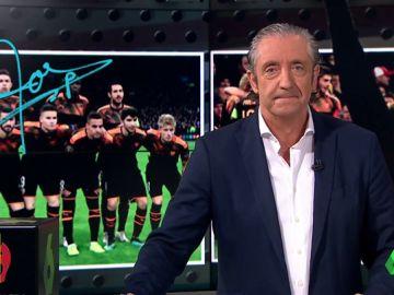 """Josep Pedrerol; """"Hoy más que nunca, amunt Valencia"""""""