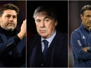 Pochettino, Ancelotti y Kovac, entrenadores 'top' en problemas