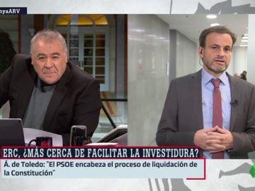 """Jaume Asens (En Comú Podem), sobre los líderes del procés: """"Cuanto antes salgan en libertad, antes se normalizará la situación"""""""