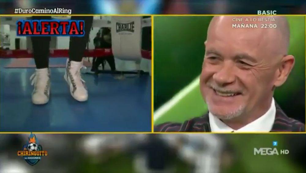 Alfredo Duro descubre quién será su rival en debut como boxeador: ojo a su reacción