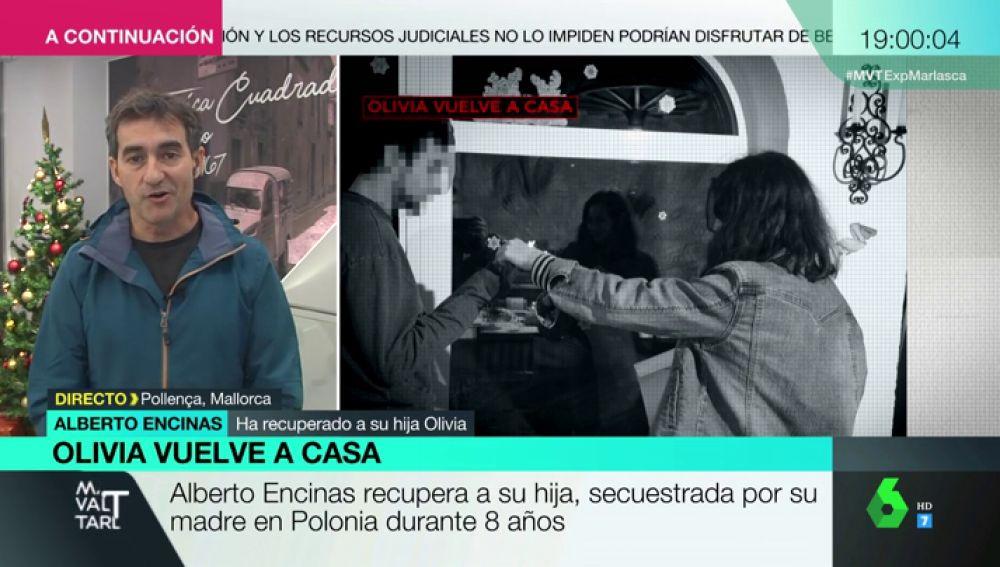 """Alberto Encinas, tras reencontrarse con su hija secuestrada durante ocho años: """""""