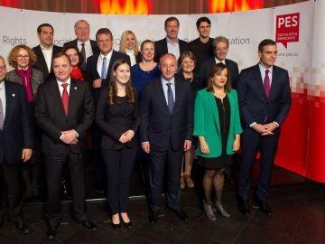 Los socialistas europeos preparan el último Consejo Europeo del año.