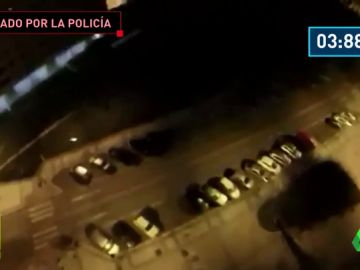 La Policía busca al autor de este temerario salto desde un edificio de Burgos