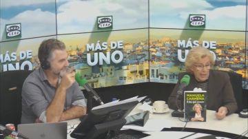 Un pedo irrumpe en plena entrevista a Carmena y esta es la hilarante reacción de Carlos Alsina en Onda Cero