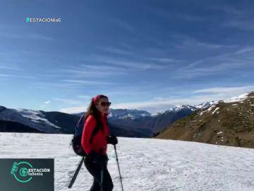 El rincón blanco de Mamen Mendizábal: las Tres Cascadas, en el Pirineo Aragonés