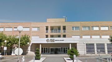 Imagen de la fachada del Hospital de Verín.