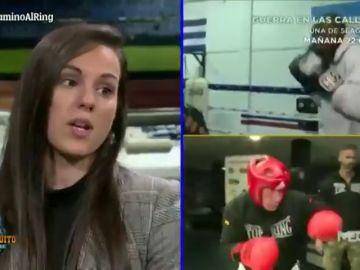 """El consejo de Joana Pastrana a Alfredo Duro antes de su gran combate: """"Tiene que buscar el estómago"""""""