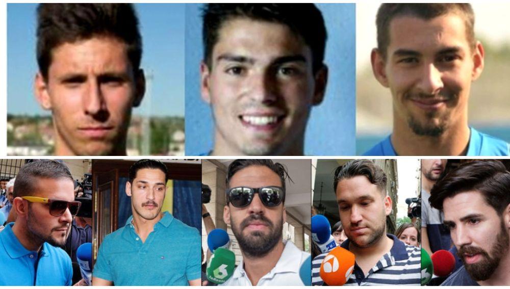 Los condenados en el caso Arandina y 'La Manada' de Pamplona