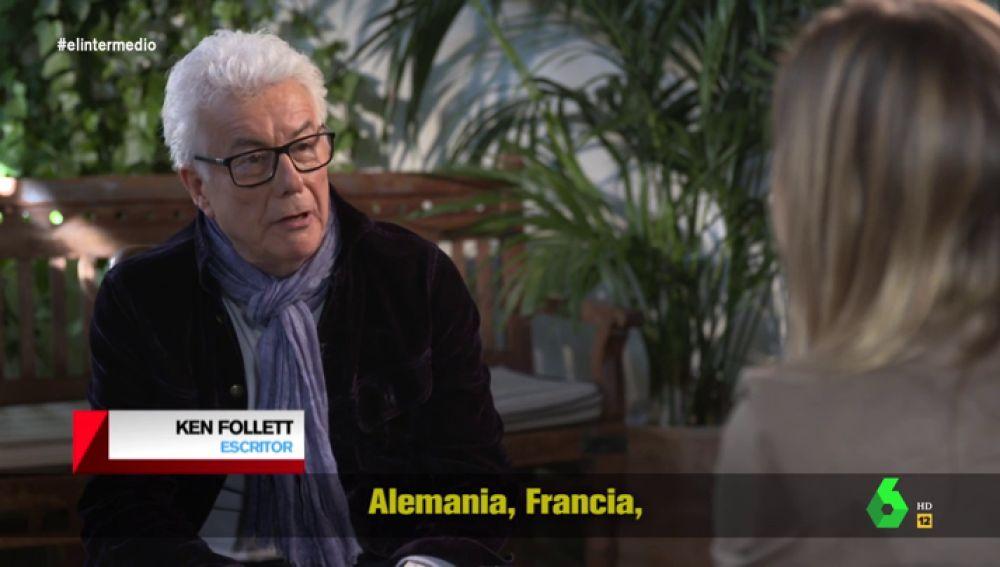 """Ken Follett: """"Dos veces despedido por mentir, ¿cómo se puede confiar en él?"""""""