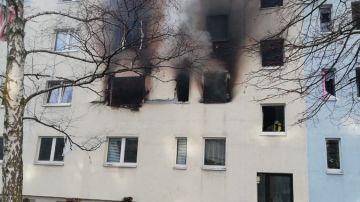 El estado del edificio tras la explosión