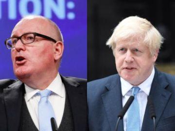 """Mensaje de 'reconciliación' del vicepresidente de la Comisión Europea a Reino Unido: """"Siempre serás bienvenido"""""""