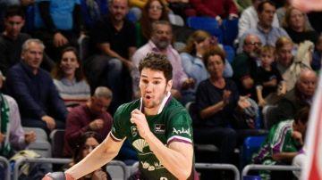 Darío Brizuela, jugador de Unicaja