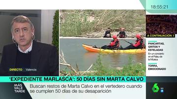 """Habla el portavoz de la familia de Marta Calvo: """"No se ha encontrado ningún testimonio que avale la versión del sospechoso"""""""