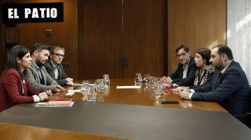 Negociación entre PSOE y ERC