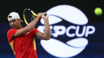 Rafa Nadal, baja en el primer partido de la ATP Cup