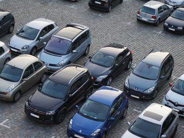 Imagen de un aparcamiento
