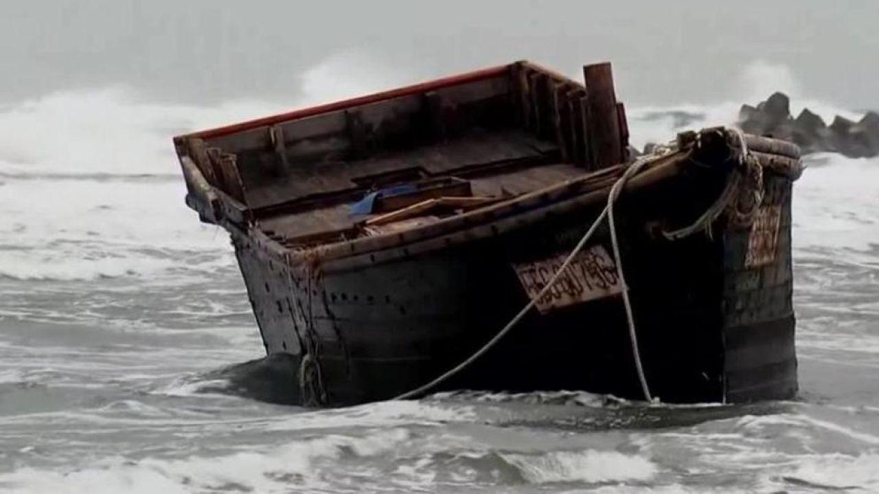 Imagen de archivo de un barco fantasma