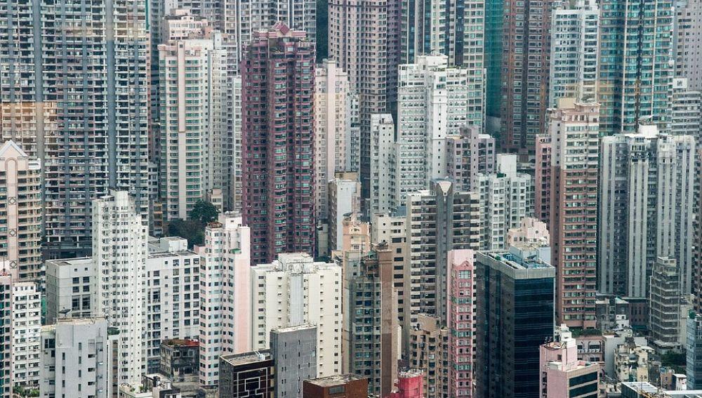Panorámica de Hong Kong