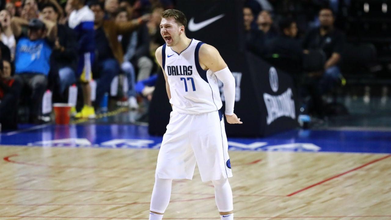 Luka Doncic, con los Mavericks