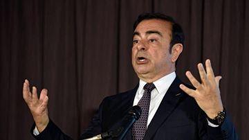 El expresidente de Nissan, Carlos Ghosn