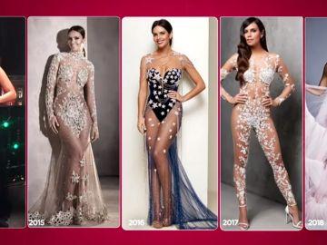 Todos los vestidos de Cristina Pedroche en las Campanadas