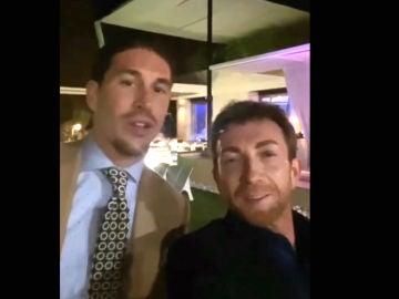 Sergio Ramos y Pablo Motos