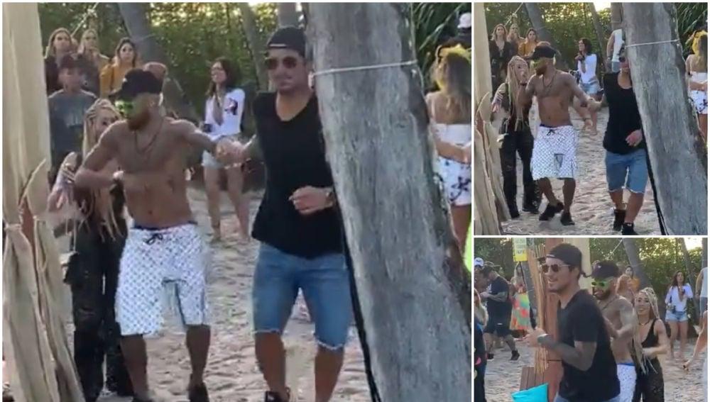 Neymar, pasando un buen día