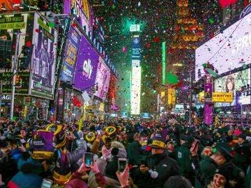 Celebración desde Nueva York, Estados Unidos