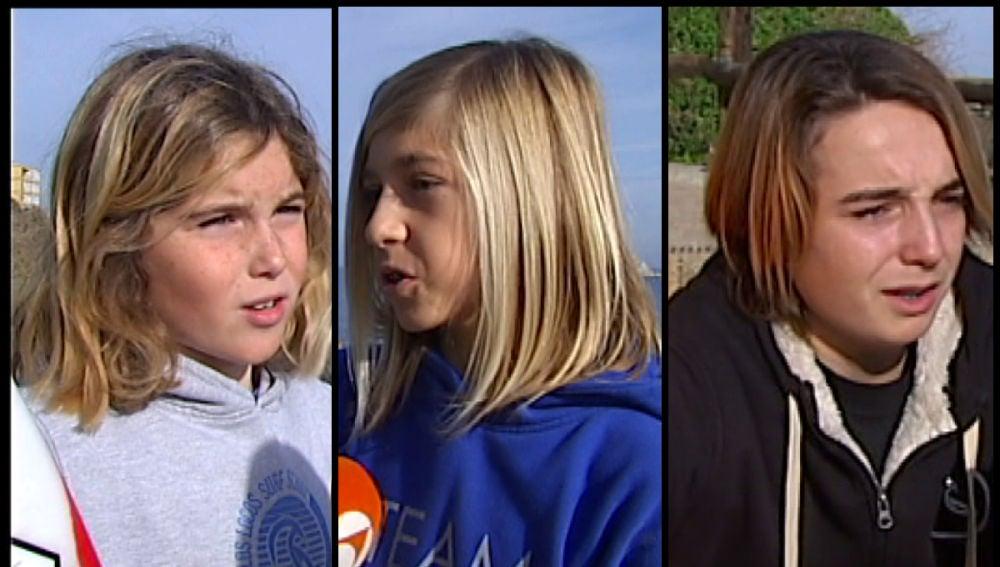 Los niños surfistas que salvaron la vida a un piragüista