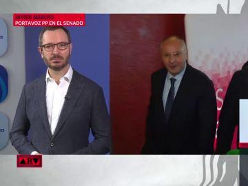 """Javier Maroto: """"Sánchez es un peligro para España porque es el presidente que quieren Otegi, Rufián e Iglesias"""""""