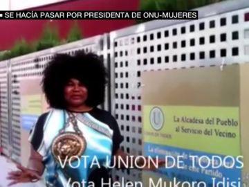 Helen Mukoro, la mujer que se hizo pasar por la presidenta de ONU-Mujeres en España