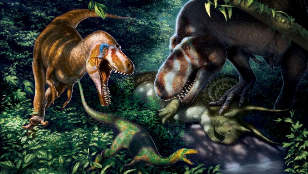 Los tiranosaurios enanos no existieron eran sus hijos