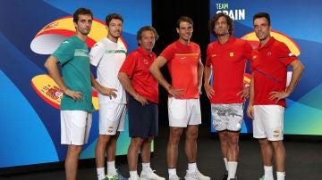 El equipo español de tenis que disputará la ATP Cup
