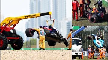 Accidentes más caros de la F1 2019