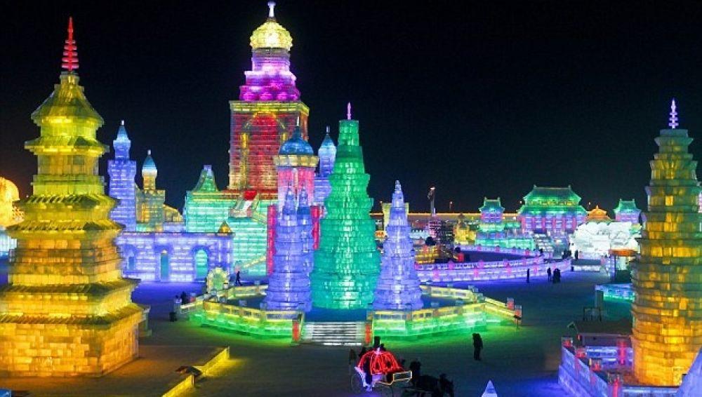 China y sus famosas esculturas de hielo