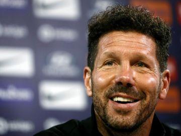 """El entrenador argentino del Atlético de Madrid Diego Pablo """"Cholo"""" Simeone"""