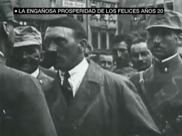 Imagen de Hitler en los años 20
