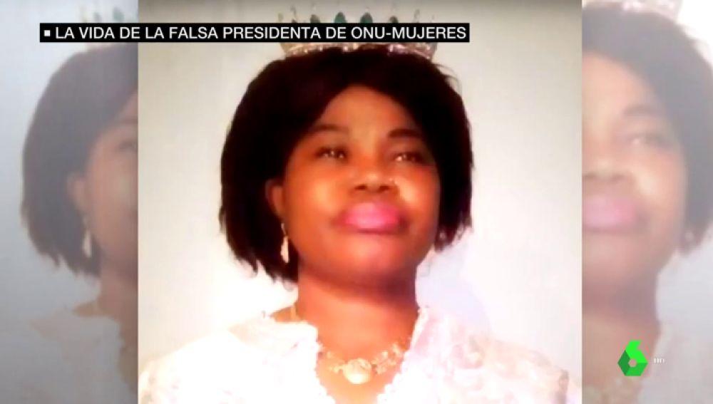 Helen Mukoro, la falsa portavoz de la ONU