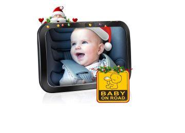 Espejo retrovisor para vigilar al bebé