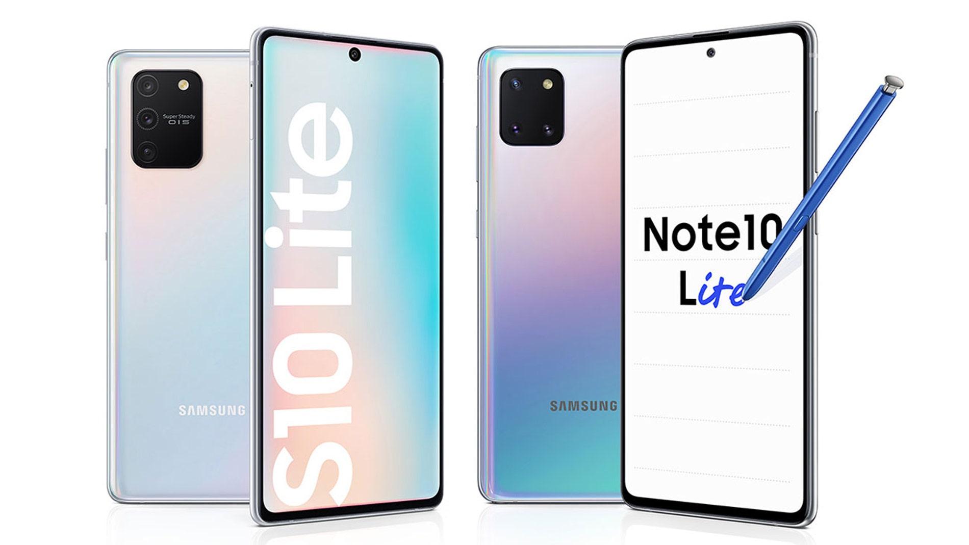 Samsung Galaxy S10 Lite y Galaxy Note 10 Lite