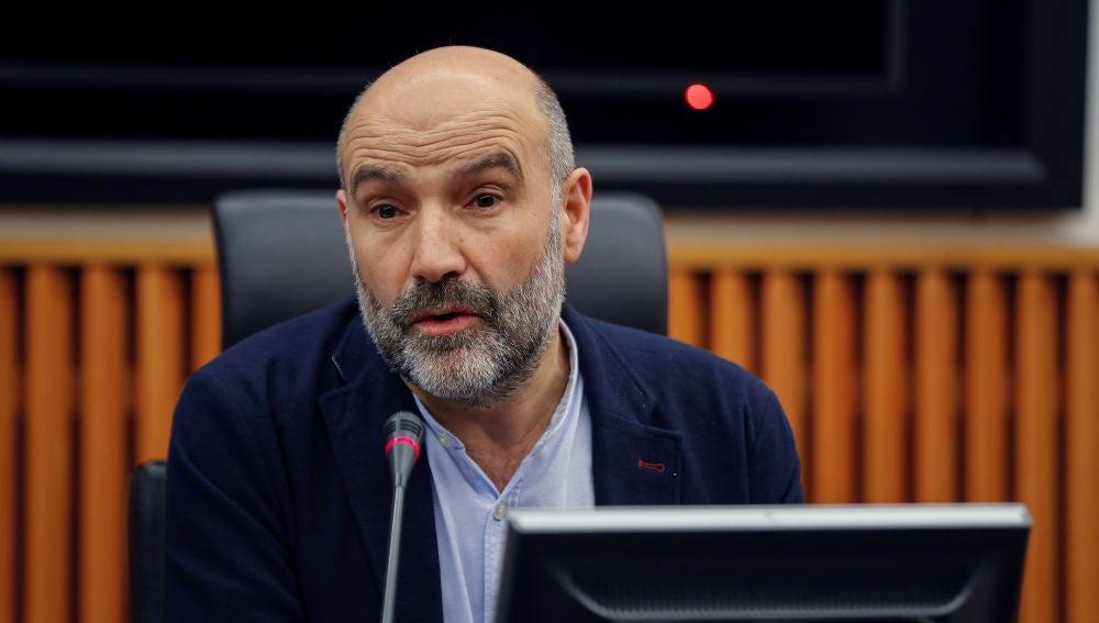 El diputado del Bloque Nacionalista Gallego (BNG), Néstor Rego